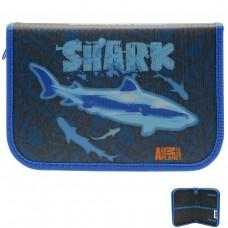 Пенал Action Animal Planet Shark, без наполнения