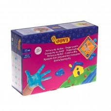 Краски Jovi для рисования руками, 6 цветов х 125мл
