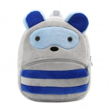 Детский рюкзак KAKOO Зверята - Синий полосатик