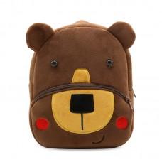 Детский рюкзак KAKOO Зверята - Бурый мишка