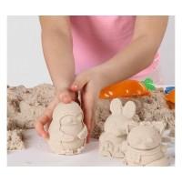 Формочки для песка и снега Биплант - Медвежка 3D