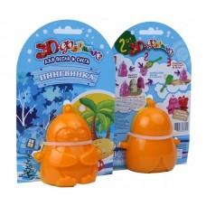 Формочки для песка и снега Биплант - Пингвинка 3D, 2 штуки