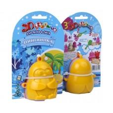 Формочки для песка и снега Биплант - Пингвинка 3D, 3 штуки