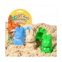 Формочки для песка и снега Биплант - Зайка 3D