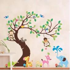 Наклейки на стену В чудесном саду 60х90 см + 30х90 см