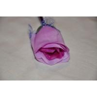 Ручка шариковая Роза, фиолетовая