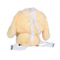 Рюкзак плюшевый AnimalWorld - Зайка бежевый
