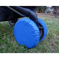 Чехлы на колеса коляски Чудо-Чадо - василек (4 шт., d = 18-28см)