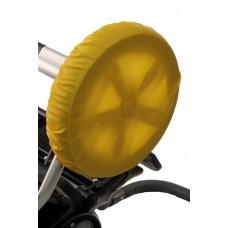 Чехлы на колеса коляски Чудо-Чадо - желтые (4 шт., d = 18-28см)