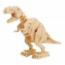 3D Деревянный пазл Robotime на звуковом управлении - Тиранозавр