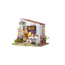 3D деревянный пазл Robotime Миниатюрный дом Крыльцо
