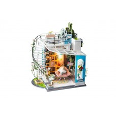 3D деревянный пазл Robotime Миниатюрный дом Лофт
