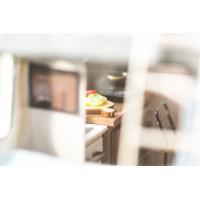 3D деревянный пазл Robotime Миниатюрный дом Автобус туриста