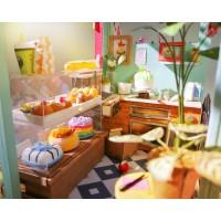 3D деревянный пазл Миниатюрный дом Мороженница