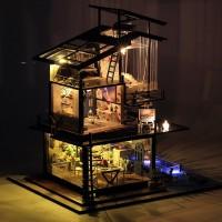 DIY Миниатюрный кукольный дом Valencia coast - Побережье Валенсии, интерьерный домик