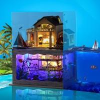 DIY Миниатюрный кукольный дом Impression Hawaii - Гавайские впечатления, интерьерный домик