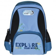 Рюкзак Action Discovery, темно-синий с голубым