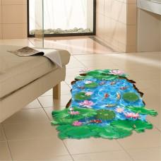 Наклейки на стену Водный мир Лотосы 60х90 см