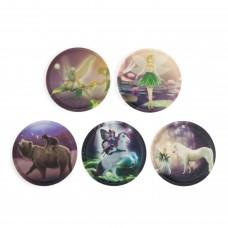 Набор сменных стикеров Ergobag Fairytale, 5 штук