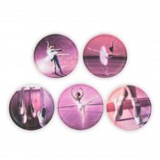 Набор сменных стикеров Ergobag Ballerina, 5 штук