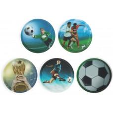 Набор сменных стикеров Ergobag Soccer, 5 штук
