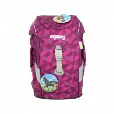 Рюкзак дошкольный Ergobag Mini - Night CrawlBear малиновый