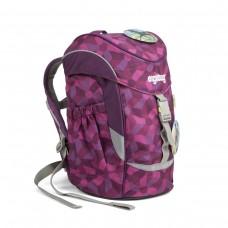 Рюкзак дошкольный Ergobag Mini - Night CrawlBear темно-малиновый