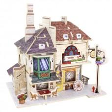 3D деревянный пазл Robotime Британская серия Чайный дом