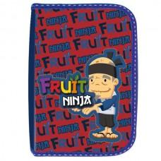 Пенал Action Fruit Ninja, красно-синий, без наполнения