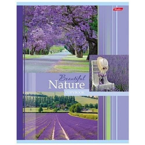 Тетрадь Hatber Beautifil nature, 48 листов, клетка, А5, дорога