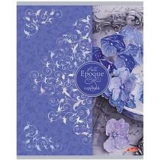 Тетрадь Hatber Прекрасная эпоха, 48 листов, клетка, А6, цвет сине-фиолетовый