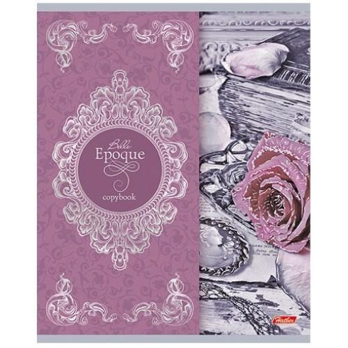 Тетрадь Hatber Прекрасная эпоха, 48 листов, клетка, А6, цвет розово-коричневый