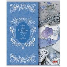 Тетрадь Hatber Прекрасная эпоха, 48 листов, клетка, А6, цвет сизый