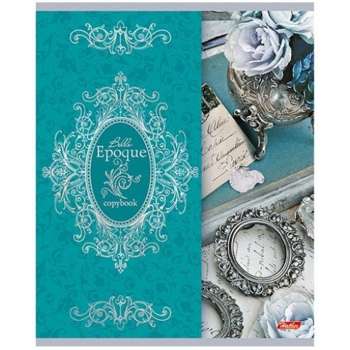 Тетрадь Hatber Прекрасная эпоха, 48 листов, клетка, А6, цвет персидский зеленый