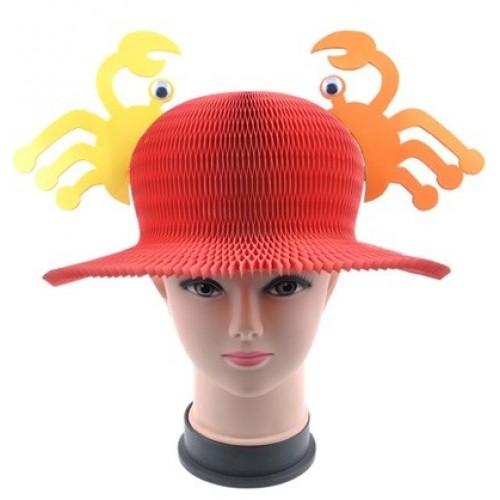 Шляпа карнавальная - Краб