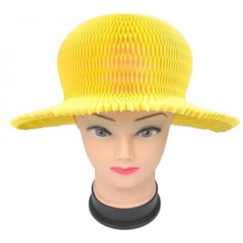 Шляпа карнавальная - Желтая