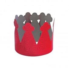 Аксессуар для карнавала - Набор корон, 6 штук, картон голограмма