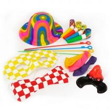 Аксессуар для карнавала - Набор клоун, 22 предмета