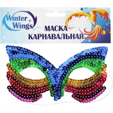 Аксессуар для карнавала - Маска кокетка №1