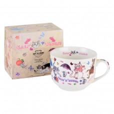 Чашка суповая Jumbo Gift-and-Home - Кошки-мышки