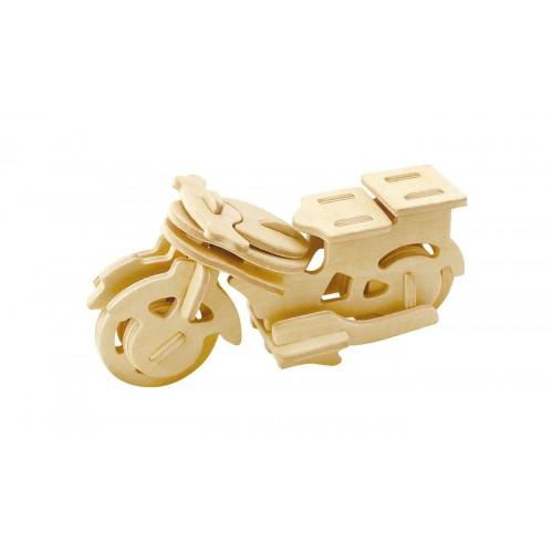 3D деревянный пазл Robotime Транспорт - Мотоцикл