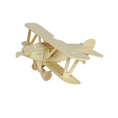 3D деревянный пазл Robotime Транспорт - Самолет