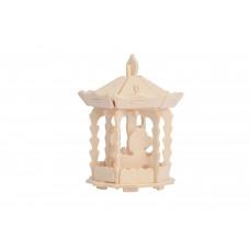 3D деревянный пазл Robotime Парк развлечений - Карусель