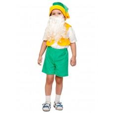 Карнавальный костюм Карнавалофф - Лайт. Гномик зеленые шорты, размер 92-116см
