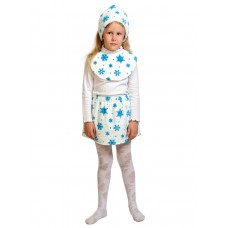 Карнавальный костюм Карнавалофф - Лайт. Снежинка, размер 92-116см