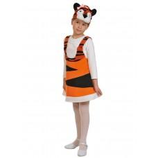 Карнавальный костюм Карнавалофф - Ткань-плюш. Тигрица, размер 92-122см