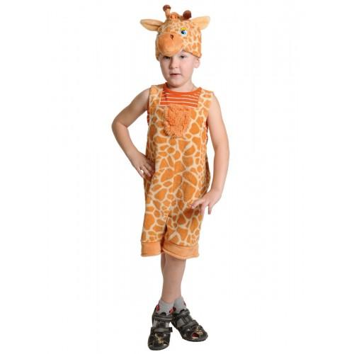 Карнавальный костюм Карнавалофф - Плюш. Жиравчик, размер 92-122см