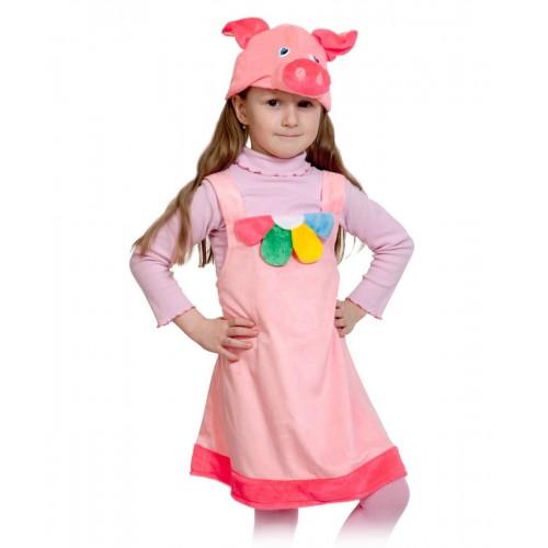 Карнавальный костюм Карнавалофф - Поросюшка Плюш, размер 92-122 см