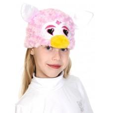 Каравальная маска Карнавалофф - Монстрик розовый со сердечками