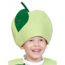 Маска-шапочка Карнавалофф - Во саду ли, в огороде. Яблоко, размер 53-55см